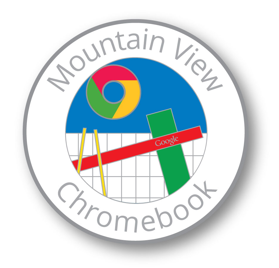 Chromebook schwag pin